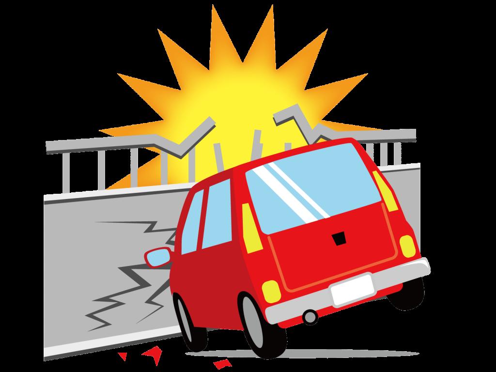 交通事故と身体の変化